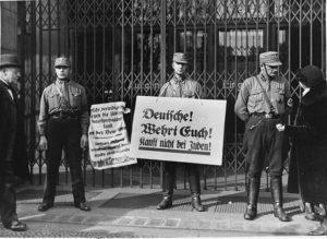Nazi boycott.
